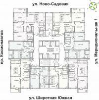 Типовой этаж для домов: 22, 26 и 32 этажа